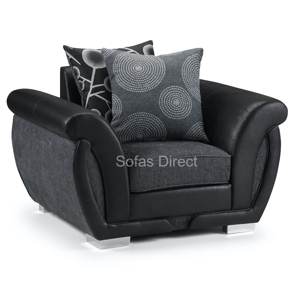 Plush Fabric Arm Chair - SD098