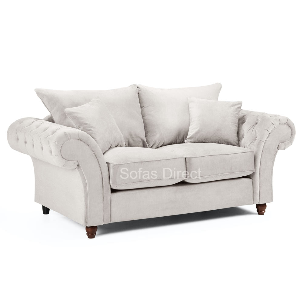 Stone Fabric 2 Seater Sofa - SD123