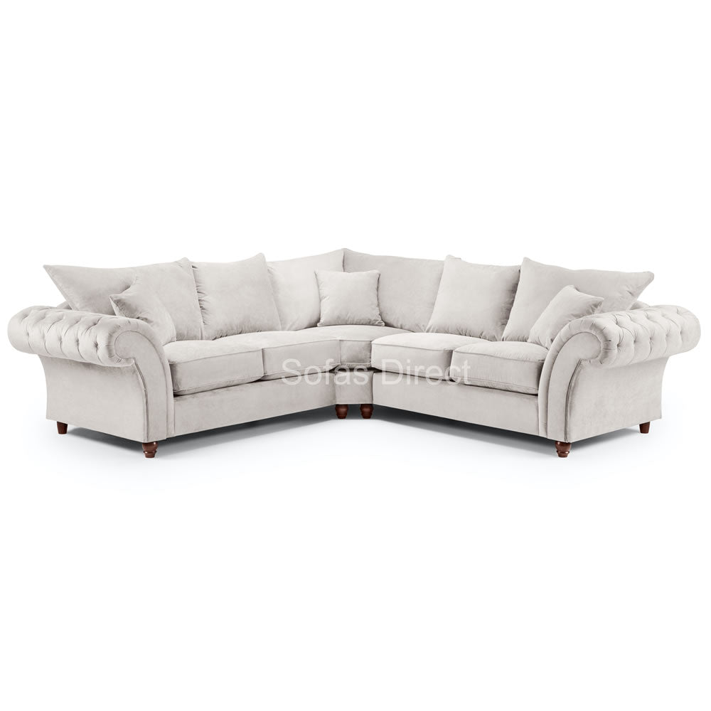 Stone 2C2 Corner Fabric Sofa - SD123