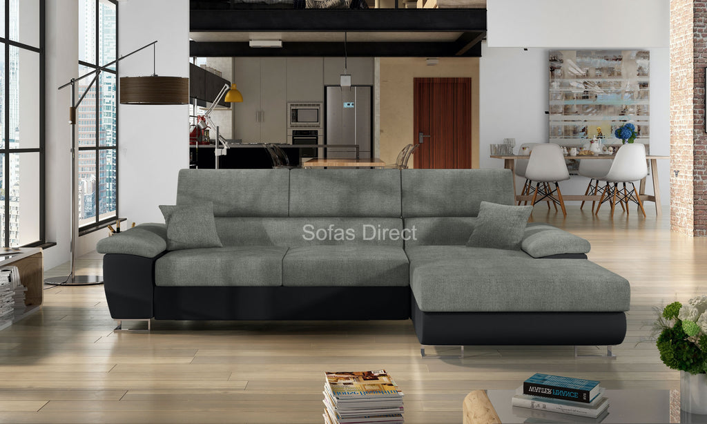 L Shape Corner Sofa Bed - SD151