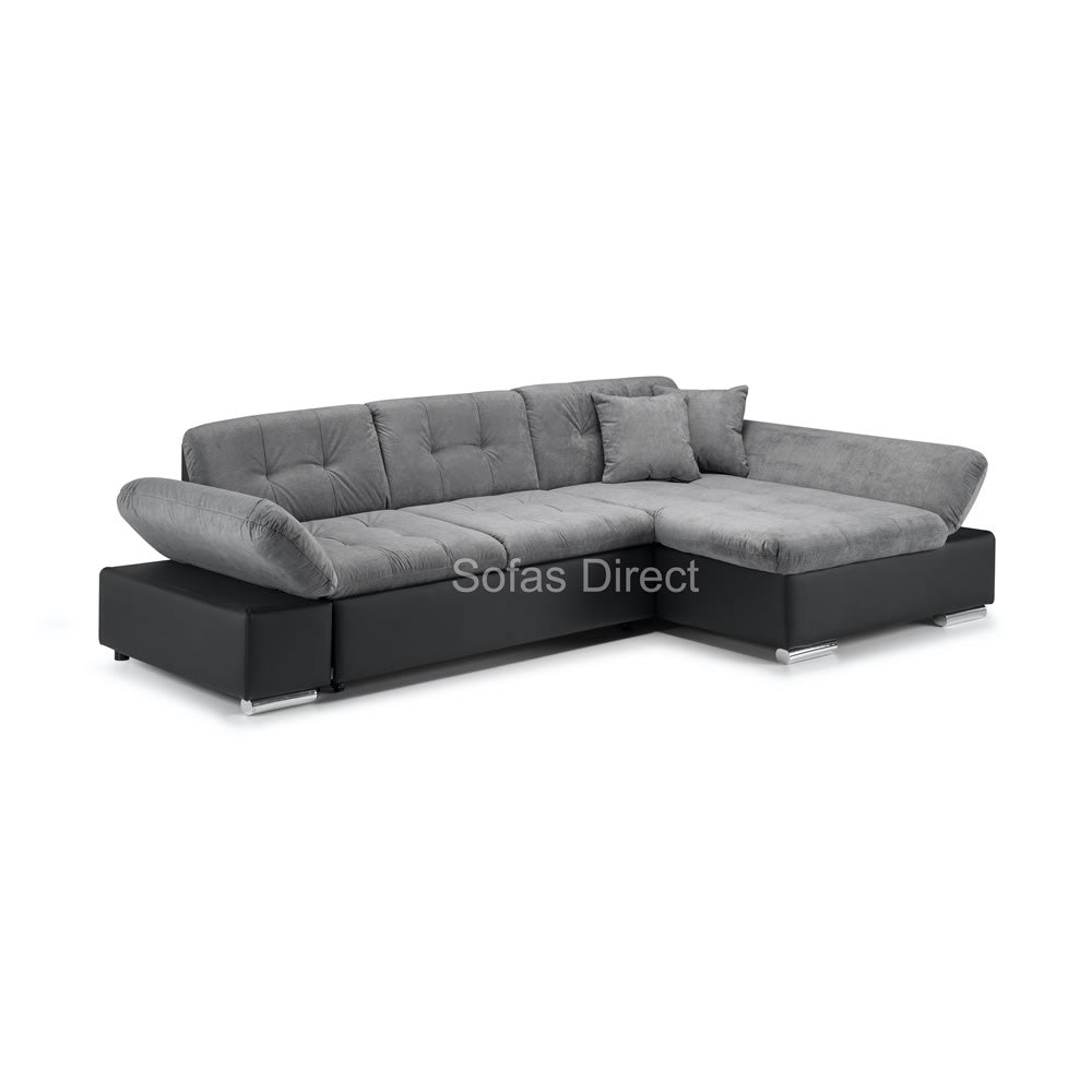 Two Tone Corner Sofa Bed - SD154