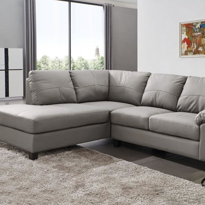 Grey Sofas Online UK | Leather, Fabric & Corner Sofas ...