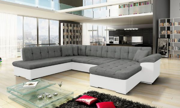 Large Corner Sofa Bed Settee - SD096