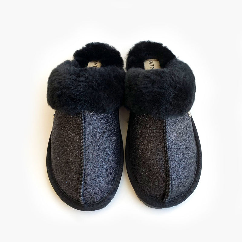 Romi Sparkle Sheepskin Slipper