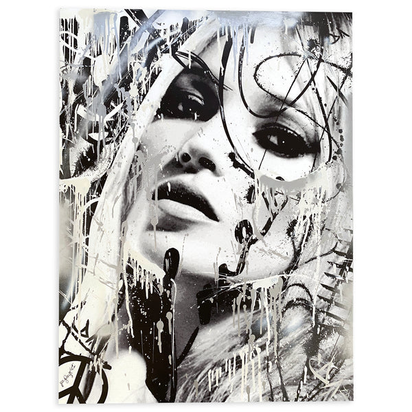 Kate Moss-Look  (30x40)