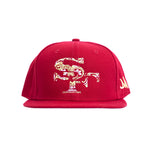 SF DOD - New Era snapback hat (Red)