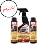Load image into Gallery viewer, Chick Fresh Concentrate Special 50% off! Eliminate Chicken Coop Odor & Ammonia 2 Concentrates with a FREE Sprayer & FREE Shipping. Fill 2 Gallons!