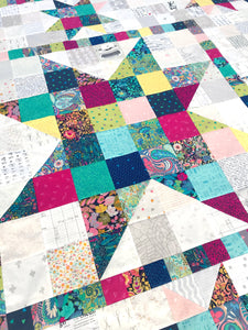 Resplendent Star Quilt Kit