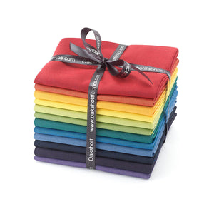 Rainbow fat Quarter 12 pack