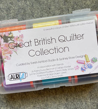 Load image into Gallery viewer, Great British Quilter Aurifil Thread box