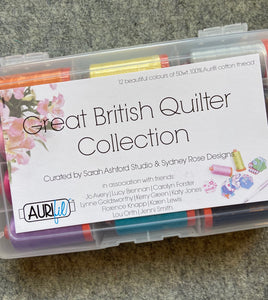 Great British Quilter Aurifil Thread box