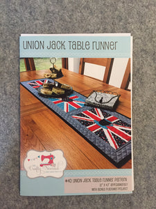 Union Jack Table runner pattern