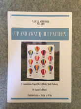 Load image into Gallery viewer, Up and Away Quilt Pattern