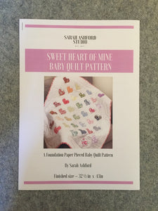 Sweet Heart of Mine Baby Quilt Pattern