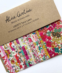 "Liberty Tana Lawn 5"" Charm Packs"
