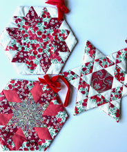 Load image into Gallery viewer, Festive EPP patterns