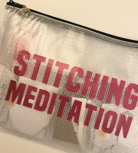 Stitching Meditation Set Pink