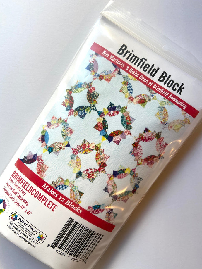Brimfield Block Papers for complete Quilt