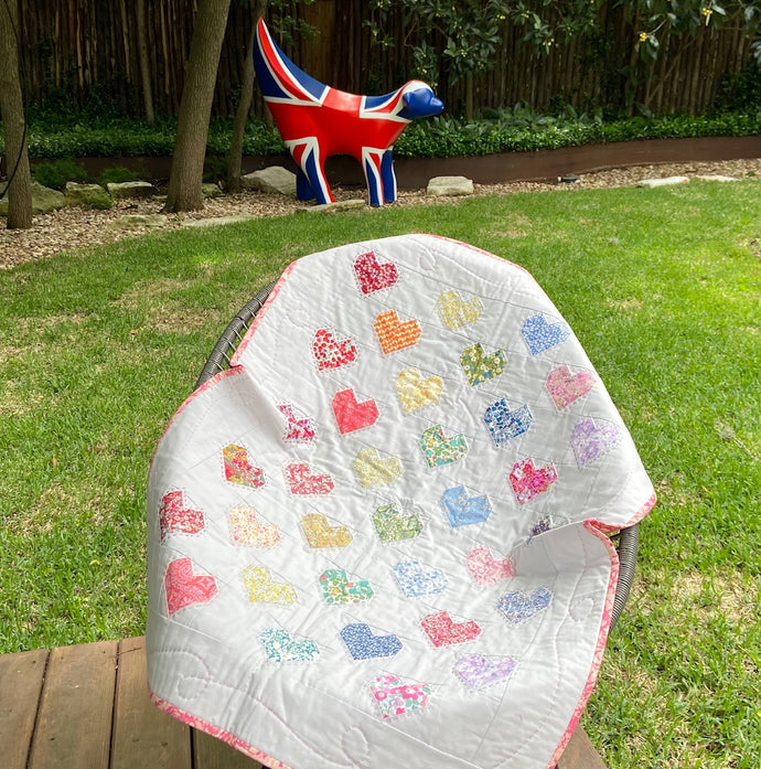 Sweet Heart of Mine Baby Quilt Kit