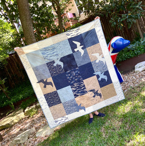 Great Gulls Quilt kit