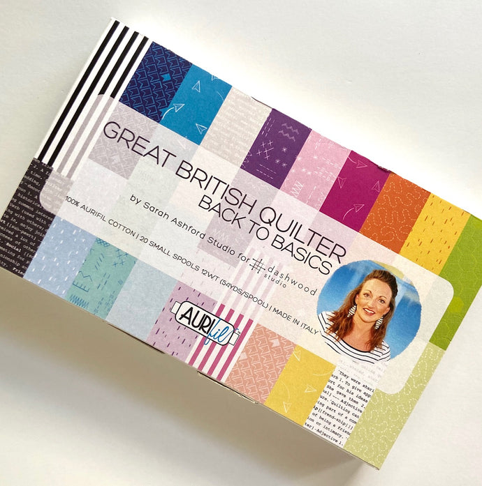 Great British Quilter Back to Basics Aurifil set