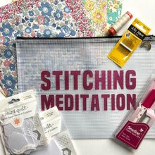 Load image into Gallery viewer, Stitching Meditation Set Pink