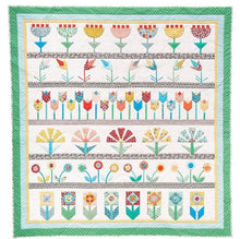 Load image into Gallery viewer, Jo Avery's Bedding Plants QAL Quilt Kit