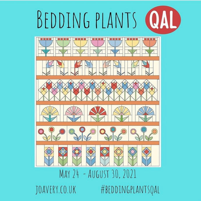 Jo Avery's Bedding Plants QAL Quilt Kit