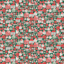 Load image into Gallery viewer, Liberty Festive Collection Yule Town B
