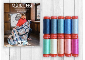 Quilting with Liberty Fabrics Aurifil set