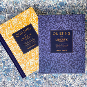 Quilting with Liberty Fabrics book by Jenni Smith