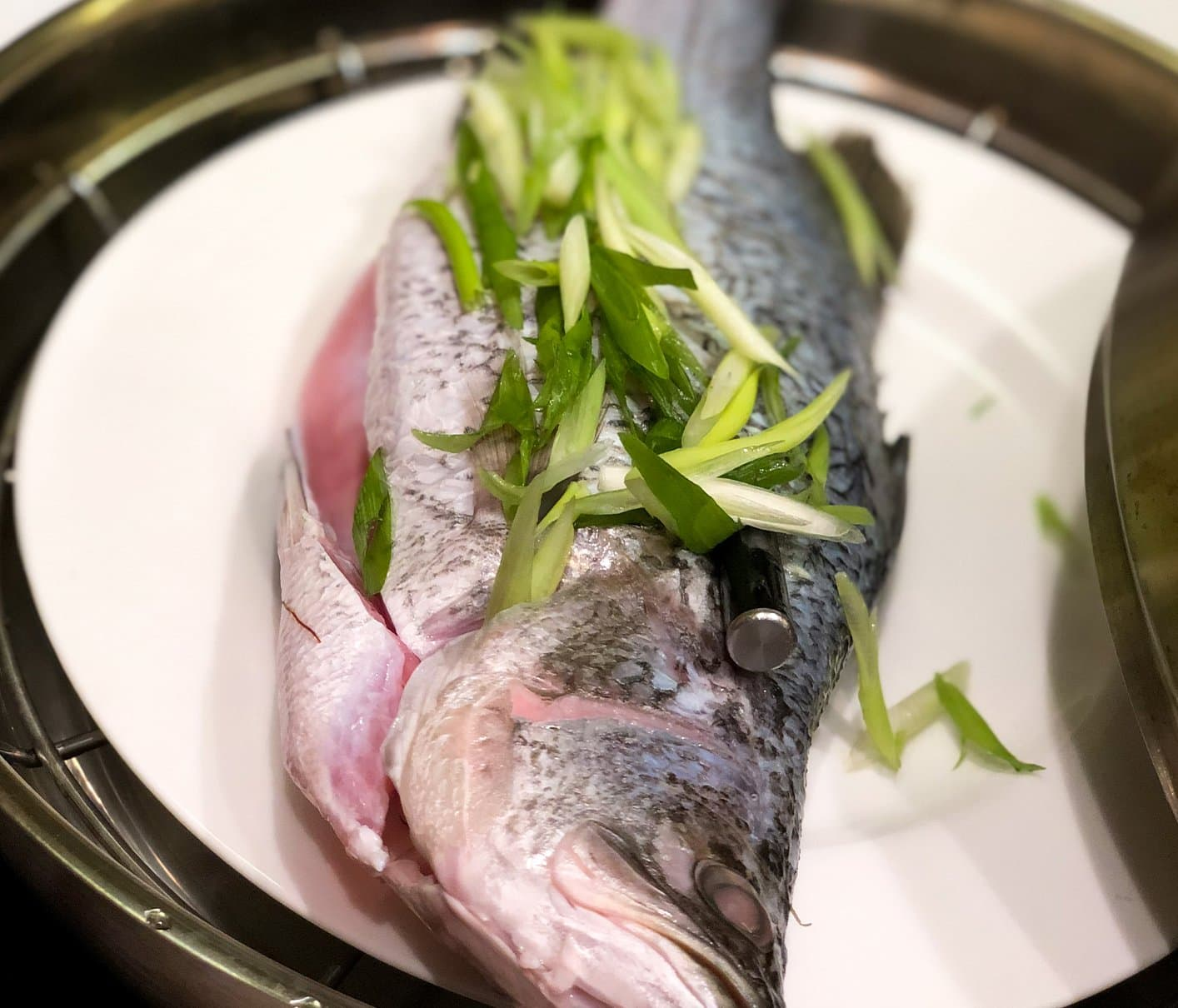 Cantonese Steamed Fish with The MeatStick