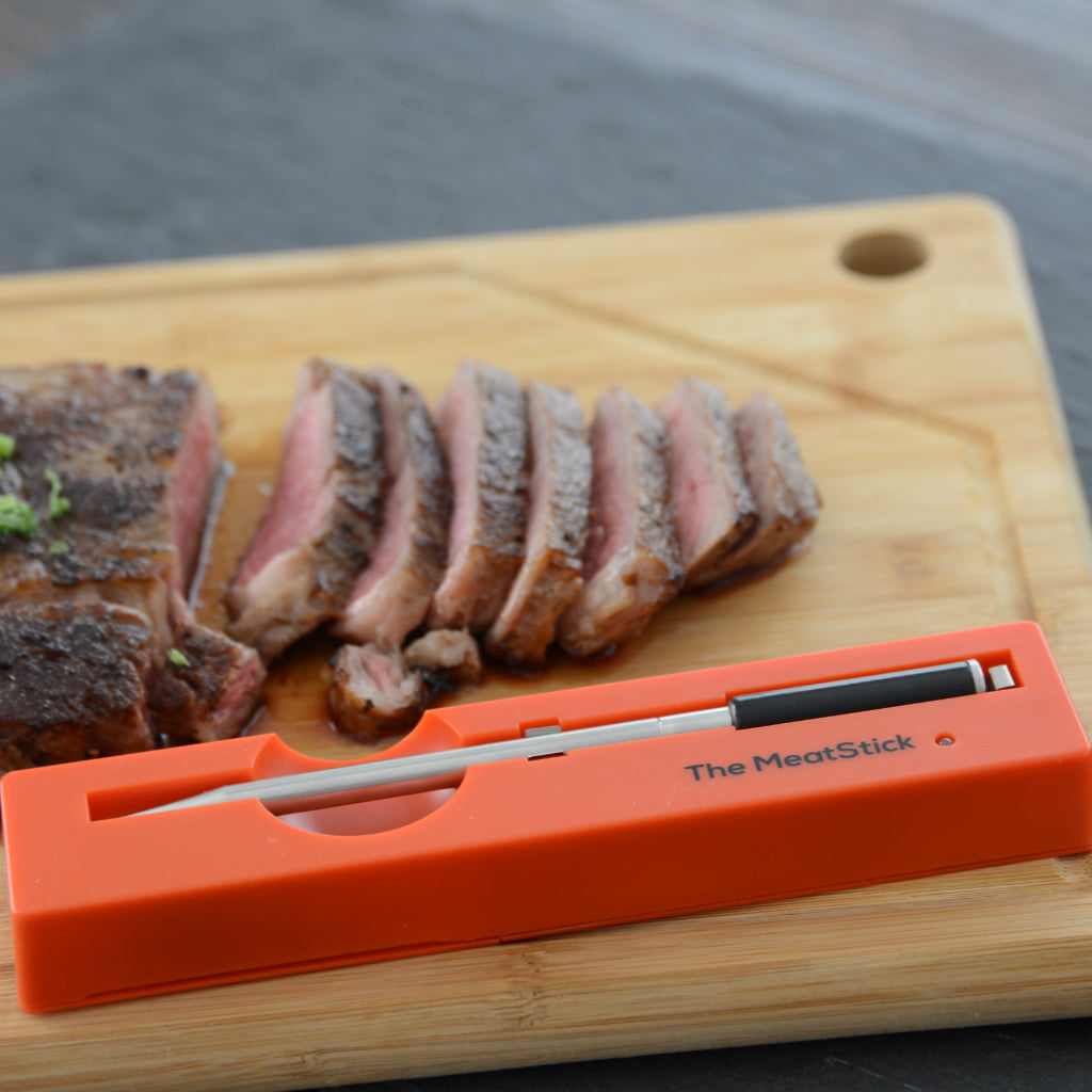 The MeatStick Set with a red meat
