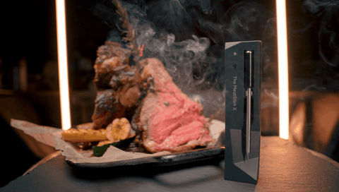 The MeatStick is a true wireless meat thermometer