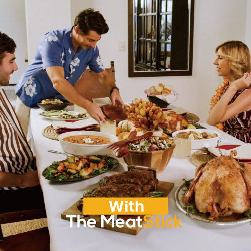Spend more time with the family with the help of The MeatStick