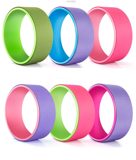 Pilates Magic Circle Yoga Circle TPE Yoga Wheel Ring Slimming For Gym Yoga Fitness Roller Home Bodybuilding - Pro Lyfstyle Store