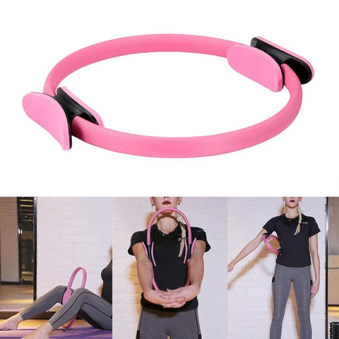 New Dual Grip Yoga Pilates Ring  for Muscle Exercise Kit  Magic Circle Muscles Body Exercise Yoga Fitness Tool Dropship 4 Colors - Pro Lyfstyle Store
