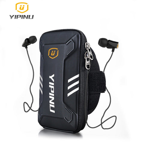 Yipinu Waterproof Small Fitness Running Bag Wallet Jogging Phone Holder Purse Armband Gym Arm Bag Sports Accessories 4-6 Inch - Pro Lyfstyle Store