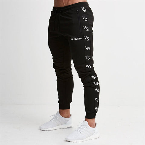 New Brand Fashion Fitness Long Pants Men Casual Sweatpants Baggy Jogger Trousers Fashion Fitted Bottoms Streetwear Pants