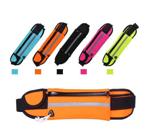 Sport Accessories Outdoor Running Waist Bag Waterproof Mobile Phone Holder Jogging Belt Belly Bag Women Gym Fitness Bag Lady - Pro Lyfstyle Store