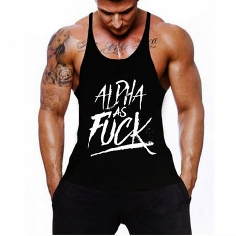 Men Tank Top Thin Strap Fitness Men  Body Bodybuilding Stringer Singlets Suit tank tops Cotton Shirt