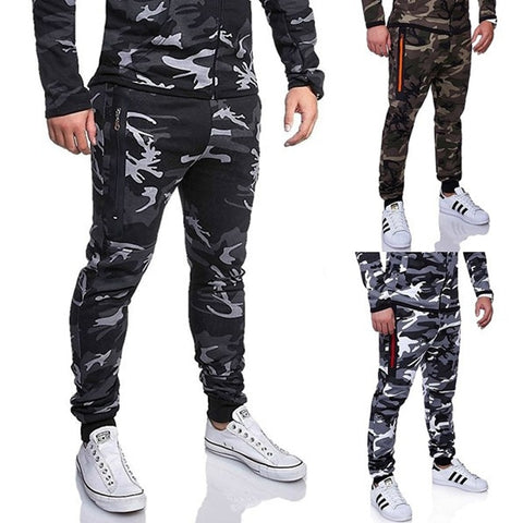 Military Style ZOGAA 2019 New arrival Mens long Pants Military Style camouflage cargo Male Camo Jogger Casual Plus Size Cotton Sport Trousers