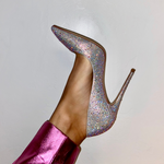 Snoh Crystal Pumps