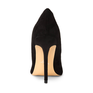 Azar Black Vegan Suede Pumps