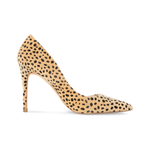 Azar Vegan Cheetah Pumps