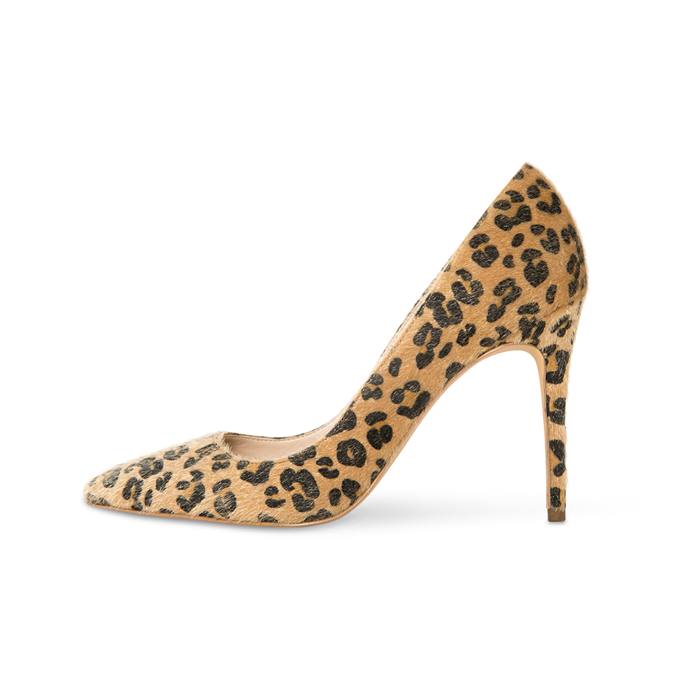 Azar Vegan Leopard Pumps