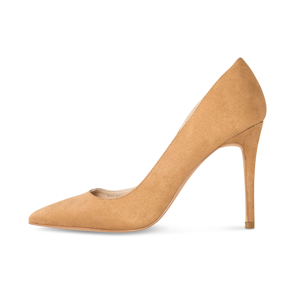 Azar Tan Vegan Suede Pumps