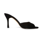 Marilyn Black Vegan Suede