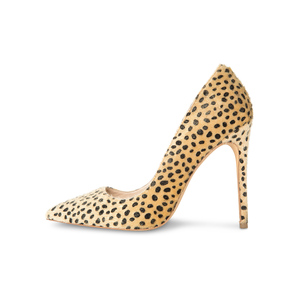 Sophia Vegan Cheetah Pumps