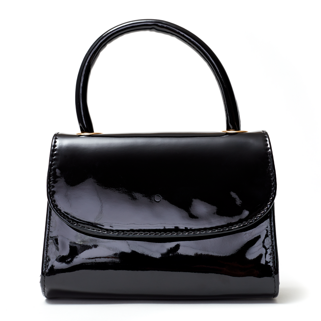Ri Bag Black Patent | Cult of Coquette